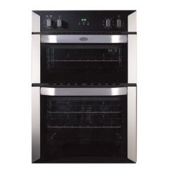 Belling BI90MF Built In Double Electric Oven