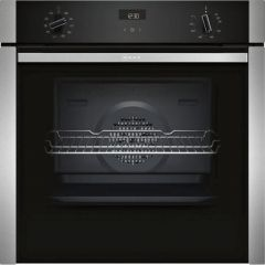 Neff B3ACE4HN0B Slide+Hide® Built In Electric Single Oven - Stainless Steel