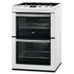 Zanussi ZCV667MWC 60Cm Double Electric Oven